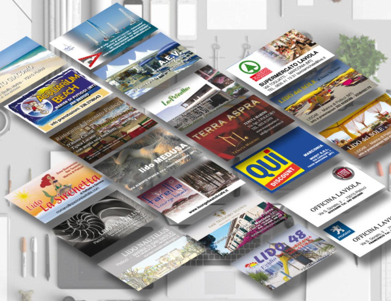 Progettazione Grafica Biglietti da Visita